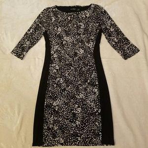Lauren ralph lauren midi dress size 12